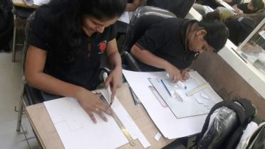 Model Making Workshop For Cadence - Interior Design Students.